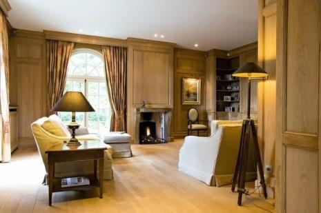 Комната в бельгийском стиле