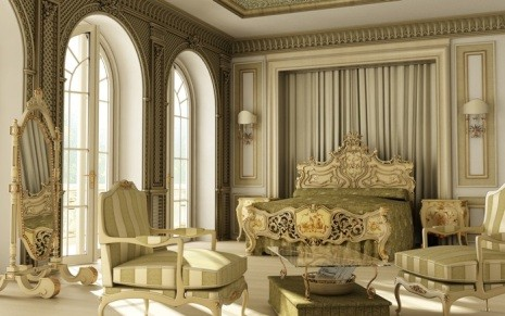 Версальский интерьер
