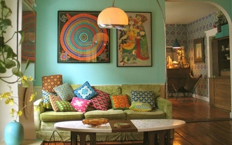 Двухцветный стол