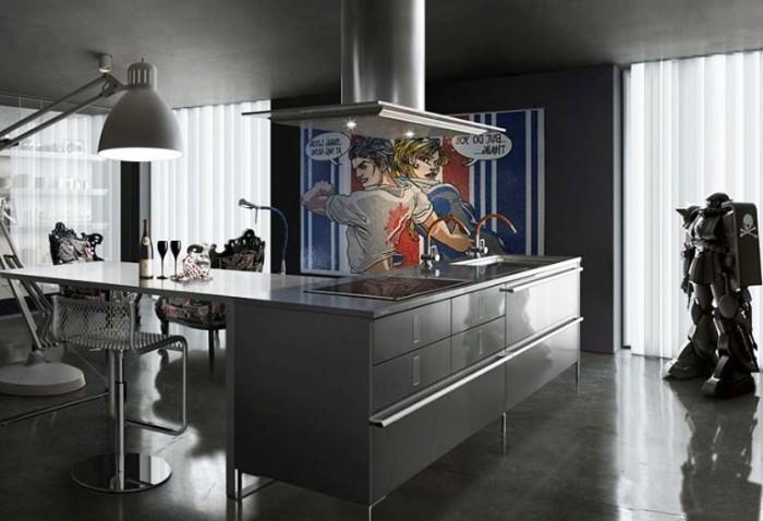 Робот на кухне