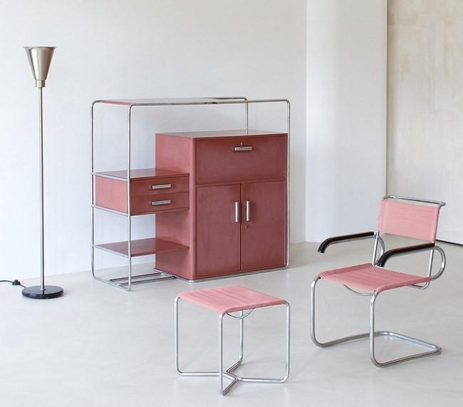 Мебель и торшер