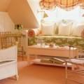 Эффектные сочетания персикового цвета в интерьере