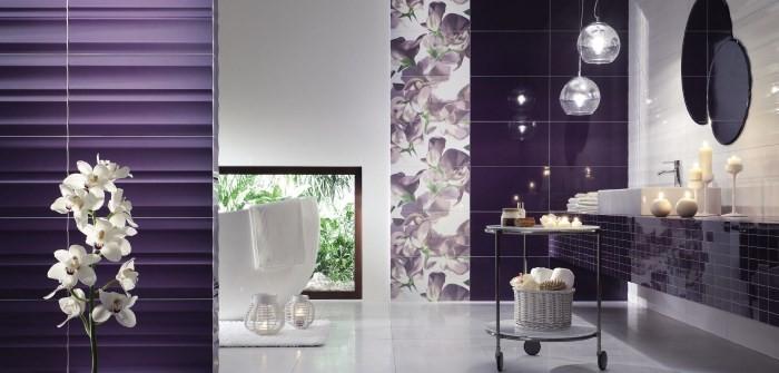 Орхидея на фоне темной стены
