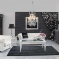 Варианты дизайна для черно-белого интерьера