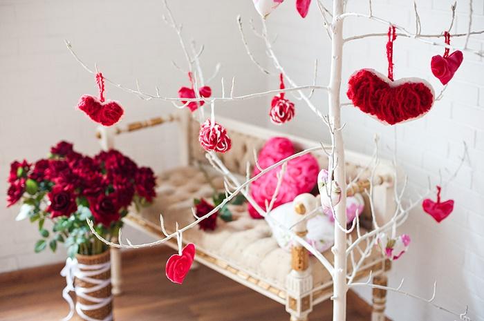 Цветы и сердца