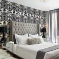 Идеи дизайна для черно-белой спальни
