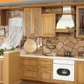 Применение декоративного камня в интерьере кухни