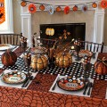 Идеи для оформления стола на Хэллоуин