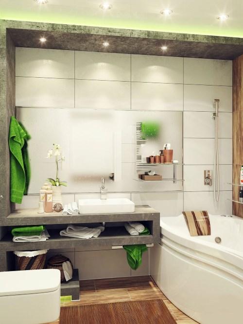 Зеленые полотенца