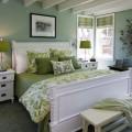 Интерьер зеленой спальни – идеи дизайнеров