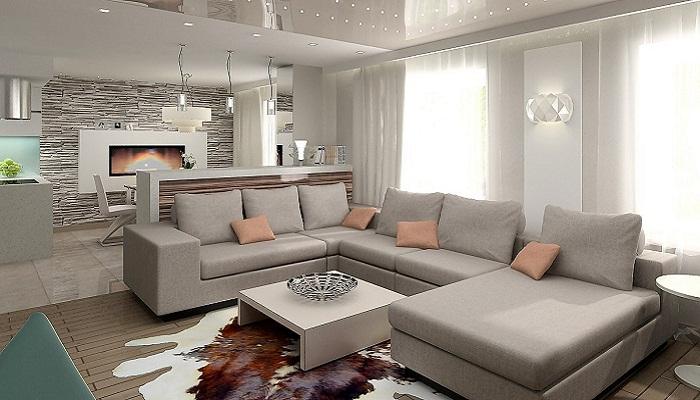 Большой диван