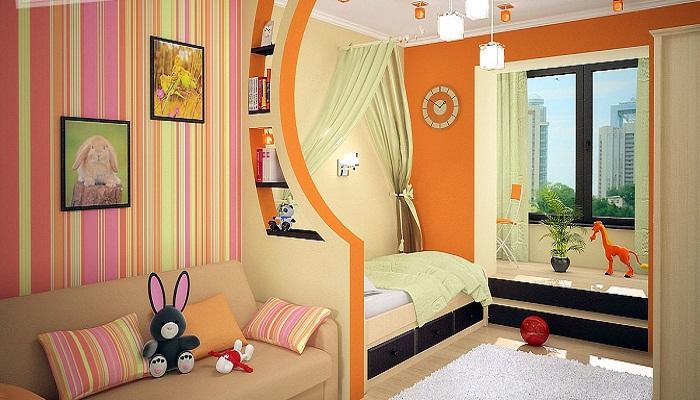 Оранжевая перегородка