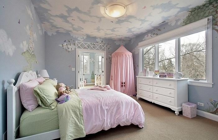 Розовое одеяло