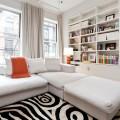 Как оформить черно-белую гостиную?