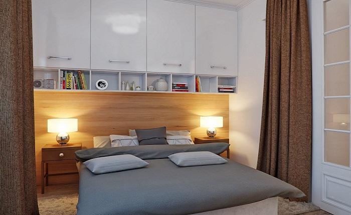 Спальня без окна фото