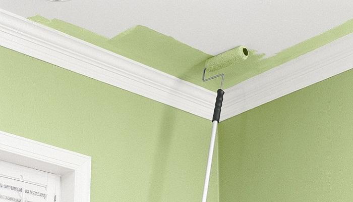 Картинки по запросу Покраска потолка водоэмульсионной краской