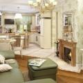 Дизайн кухни-гостиной площадью 15 кв. м