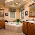 Принципы освещения в ванной комнате