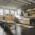 Интерьер кухни в стиле лофт – ода индустриальности