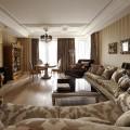 Дизайн гостиной в стиле арт-деко – экспрессия в интерьере