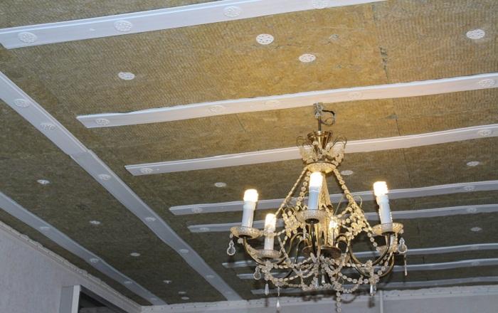 Потолок под отделку