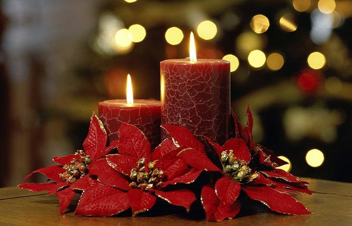 Свечи на Рождество