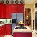Лучшие дизайнерские идеи для красной кухни