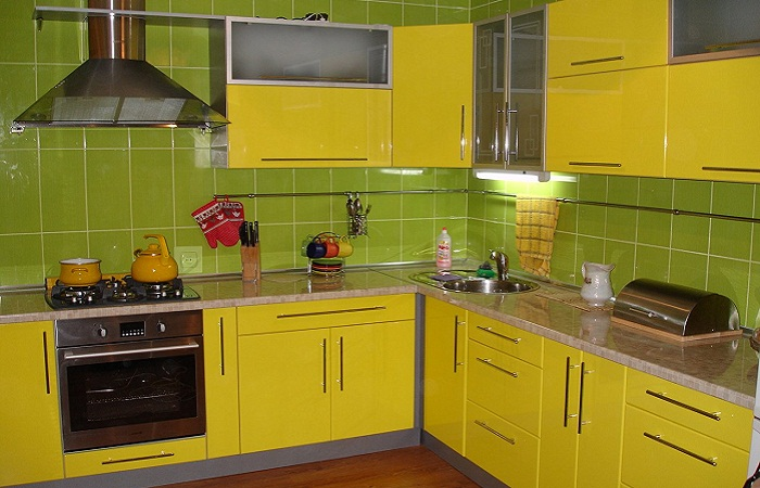 Желто-зеленые тона