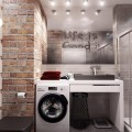 Ванная комната в стиле лофт – яркие идеи