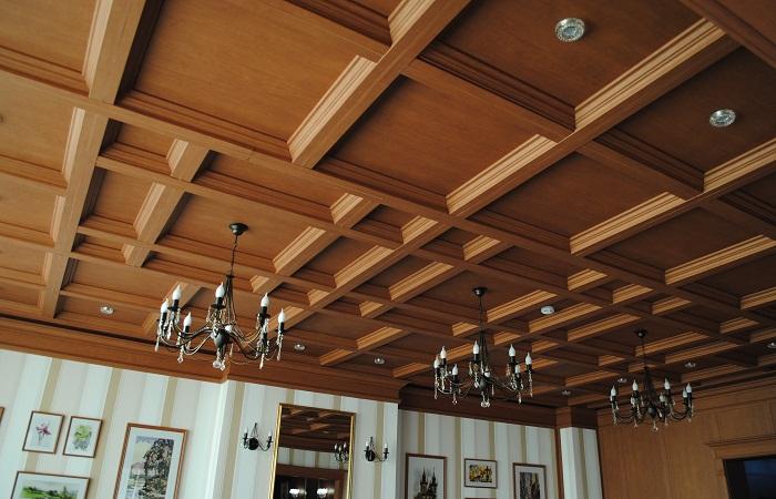 Потолок из МДФ