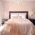 Спальни в персиковых тонах: вдохновляющие фото и подсказки дизайнеров